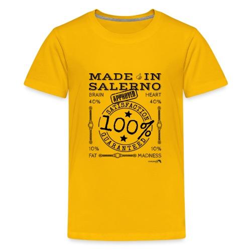 1,02 Made In Salerno - Maglietta Premium per ragazzi