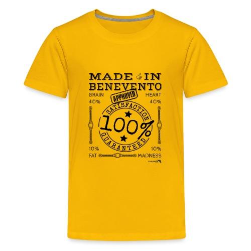 1,02 Prodotto a Benevento - Maglietta Premium per ragazzi