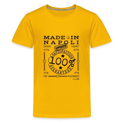 1,02 Made In Napoli - Maglietta Premium per ragazzi