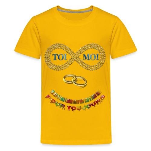 Toi et moi pour toujours - T-shirt Premium Ado