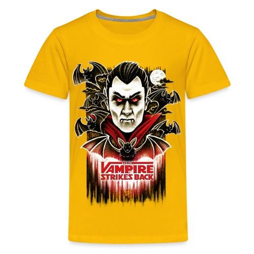 The Vampire Strikes Back - Teenage Premium T-Shirt