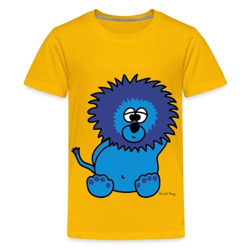 Litchee Le Lion Bleu - T-shirt Premium Ado