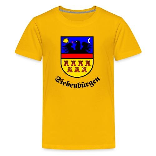 Siebenbürgen-Wappen Siebenbürgen - Teenager Premium T-Shirt
