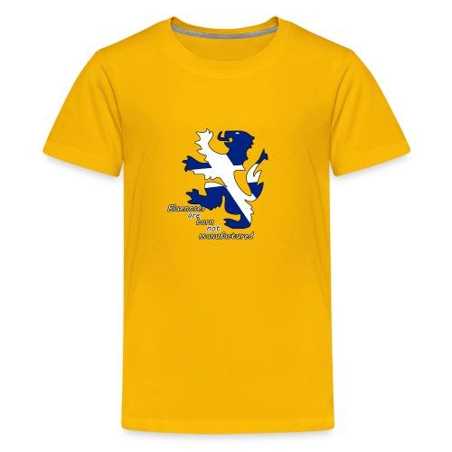 Bluenoses are Born - Teenage Premium T-Shirt