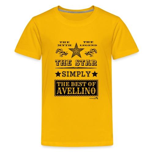 1,03 The Star Legend Avellino - Maglietta Premium per ragazzi