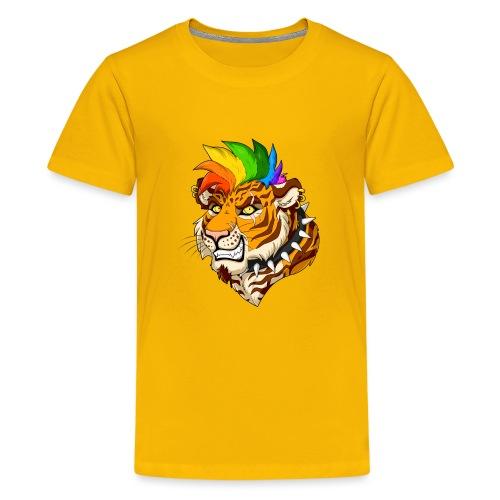 Punk Tiger - Koszulka młodzieżowa Premium
