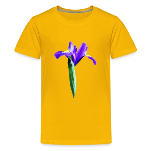 TIAN GREEN Garten - Iris 2020 02 - Teenager Premium T-Shirt