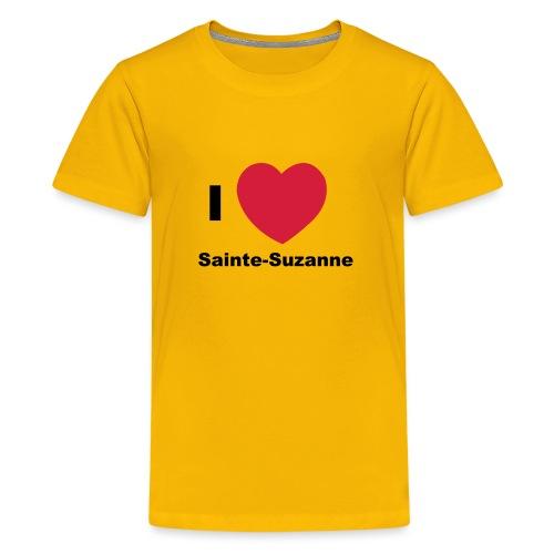 i love sainte suzanne - T-shirt Premium Ado