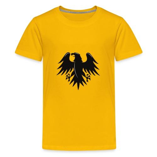 Aigle noir motif - T-shirt Premium Ado