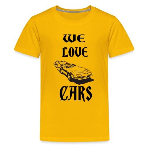 auto fahrzeug garage - Teenager Premium T-Shirt