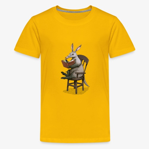 A is for Aardvark - Teenage Premium T-Shirt