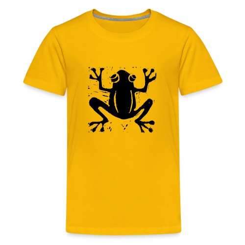 Crafty Wotnots Tree Frog - Teenage Premium T-Shirt