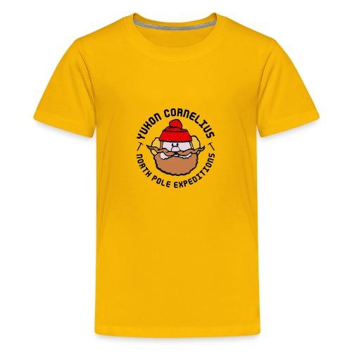 Yukon Cornelius merch - Premium-T-shirt tonåring