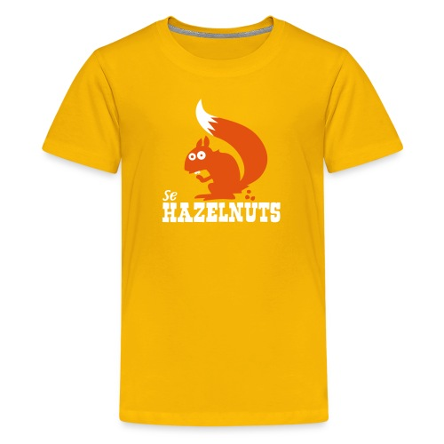 hazelnutssquirrel - Teenager Premium T-Shirt