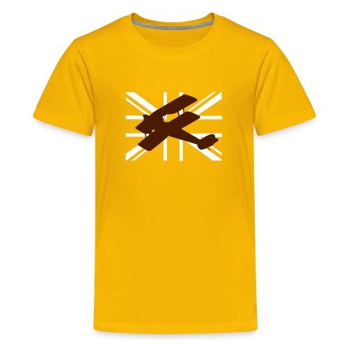 ukflagsmlWhite - Teenage Premium T-Shirt