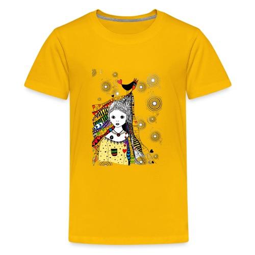 Piep, ich hab dich lieb - Teenager Premium T-Shirt