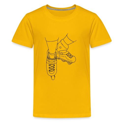 Rollerblade - Maglietta Premium per ragazzi