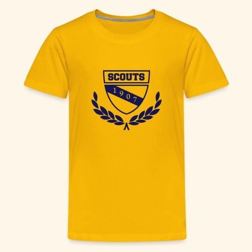 Scout Emblem - Teenager Premium T-Shirt
