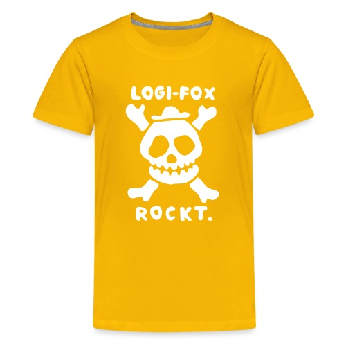 LOGI FOX rockt - Teenager Premium T-Shirt