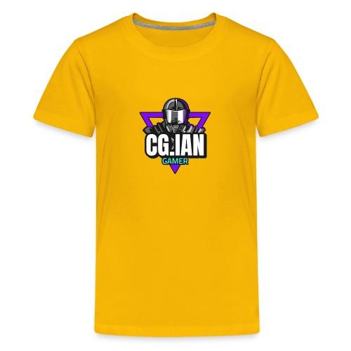 nice and Cool Guy Ian Gamer - Teenager premium T-shirt