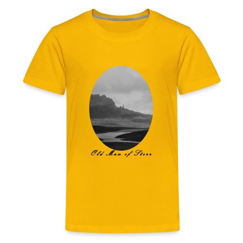 Old Man of Storr (Vintage) - Teenager Premium T-Shirt