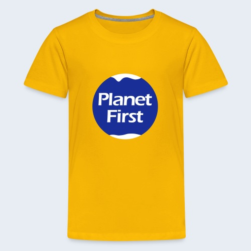 Planet First 2 - Teenager Premium T-shirt