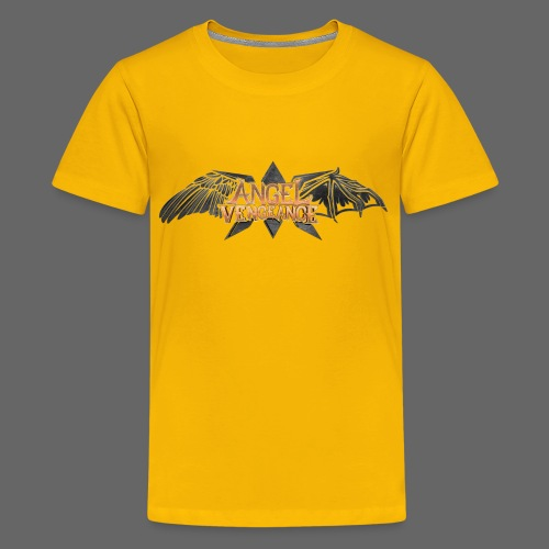 Angel Vengeance - logo - Teenage Premium T-Shirt