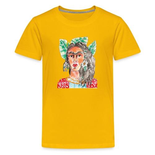 Arte & Pulsion - Frida - Camiseta premium adolescente