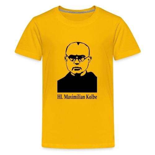 Hl. Maximilian Kolbe - Teenager Premium T-Shirt
