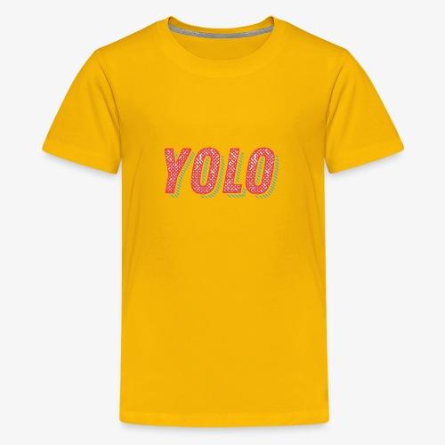 Yolo - Koszulka młodzieżowa Premium