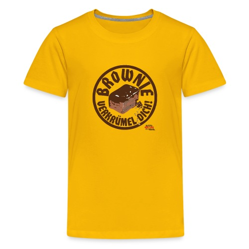 Brownie verkruemel Dich Storch Heinar - Teenager Premium T-Shirt