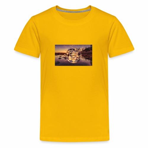Geometric Design 2.1 - Teenage Premium T-Shirt