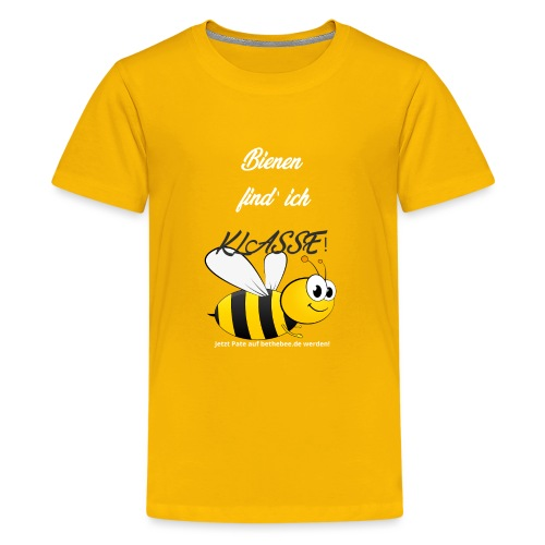 Tolle Biene - Teenager Premium T-Shirt