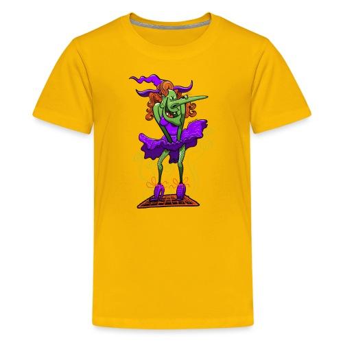 Halloween Sexy Witch - Teenage Premium T-Shirt