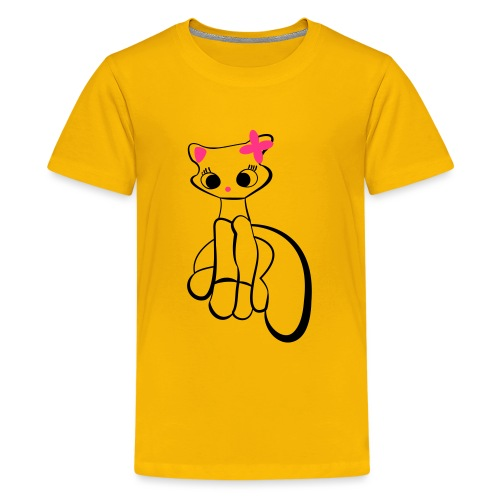 Maja gräddnos - Premium-T-shirt tonåring