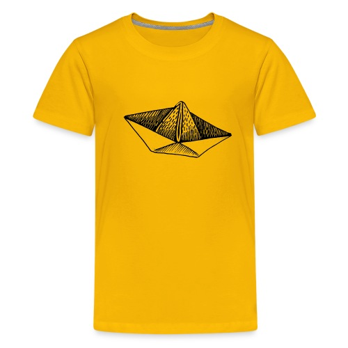 Schiffchen-1 - Teenager Premium T-Shirt