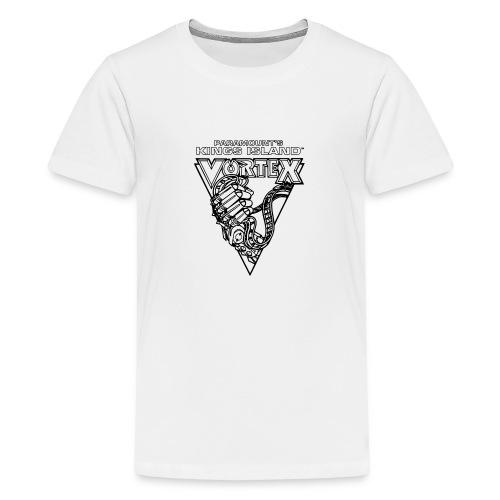 Vortex 1987 2019 Kings Island - Teinien premium t-paita
