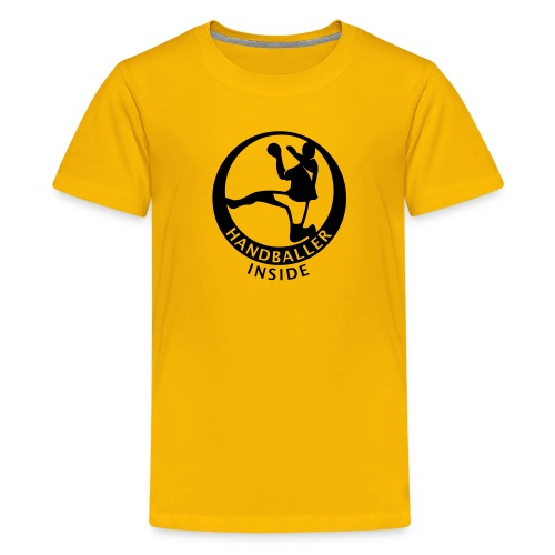 Handballer inside - Teenager Premium T-Shirt