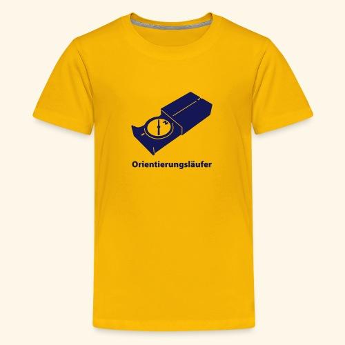 Orientierungsläufer - Teenager Premium T-Shirt