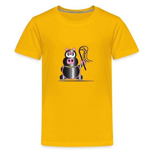 Schweinchen Sado - Teenager Premium T-Shirt