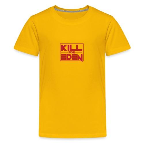 Women's Shoulder-Free Tank Top - Teenage Premium T-Shirt