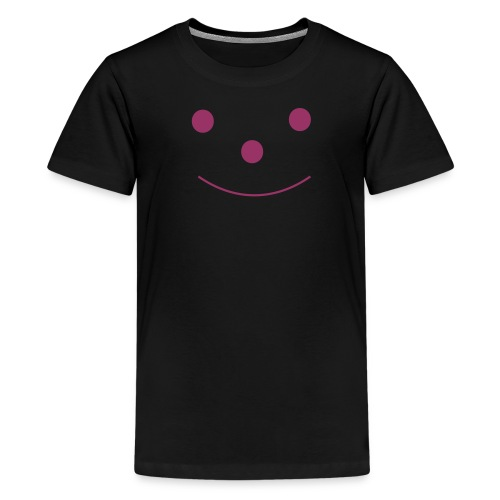 Happy Smileday smiley face - Teenage Premium T-Shirt