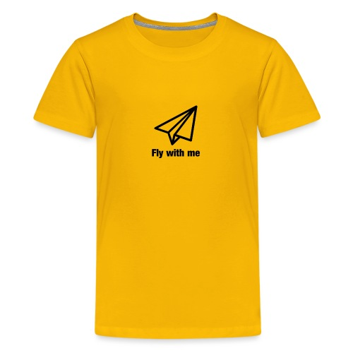Fly with me - Teenager Premium T-Shirt