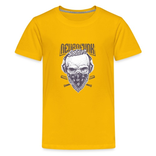 neurofunk soldier - T-shirt Premium Ado