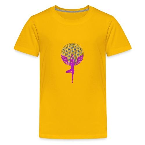 fleur de vie yoga n°1 - T-shirt Premium Ado