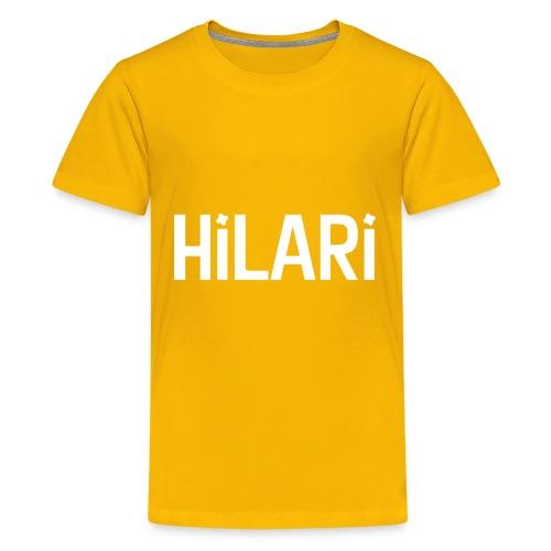 Hilari <3 - Teenager Premium T-Shirt