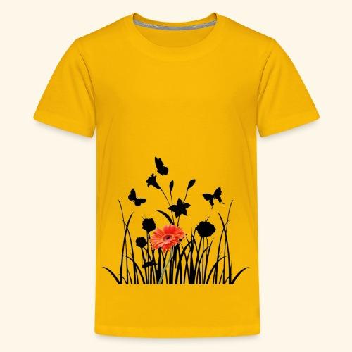 Flower Pover - Teenager Premium T-Shirt