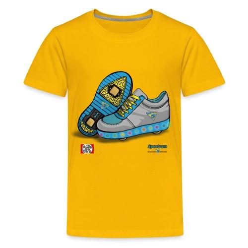 Spectrum spread design2 png - Teenager premium T-shirt
