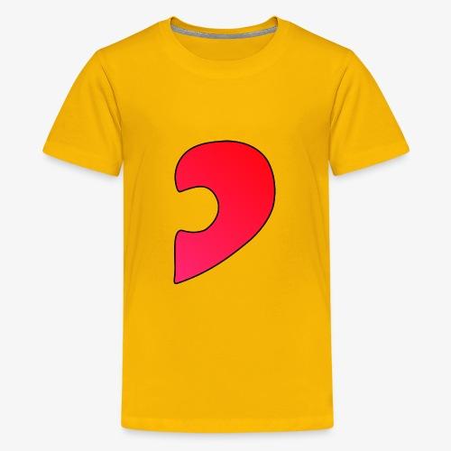 Herz Puzzle Partnerlook B - Teenager Premium T-Shirt