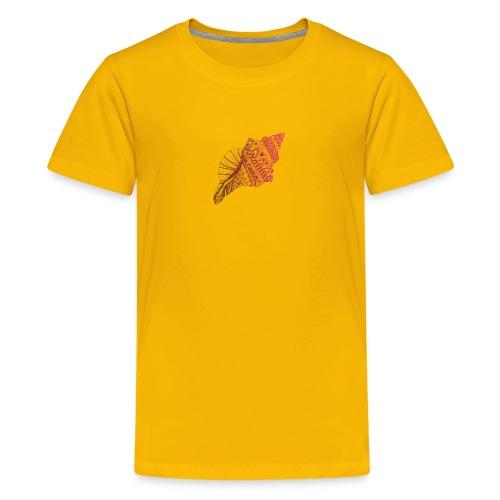 caracol - Camiseta premium adolescente